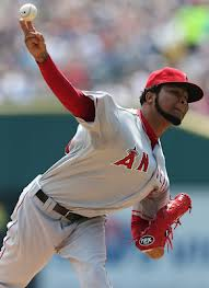 Ervin Santana will look good in Royal blue in 2013.  Image:  www.bleacherreport.com