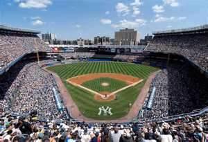 The real Yankee Stadium.  I still miss it.Image:   www.ballparkprints.com