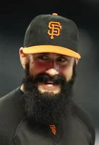 I hope to see Brian Wilson pitch in 2013.  Image:  zimbio.com