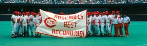 This sign for the1981 Cinicnnati Reds says it all.  Image:  mlb.com