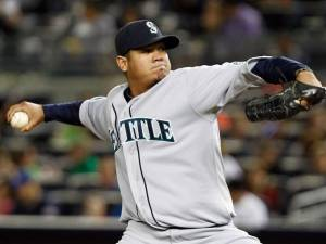 King Felix finally has some offense.  Image:  usatoday.com