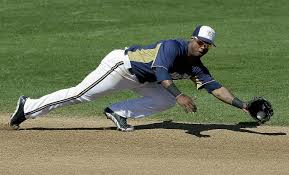 Learn the name Jean Segura.  He is just getting warmed up.  Image:  jsonline.com