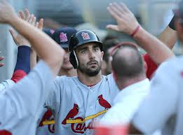 Matt Carpenter leads the NL in three offensive categories.  Image:  rotoanalysis.com