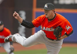 Jose Fernandez could become the 2013 NL Rookie of the Year. Image:  nydailynews.com